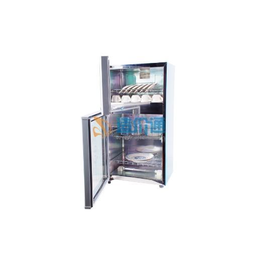 豪华型两门不锈钢消毒柜图片