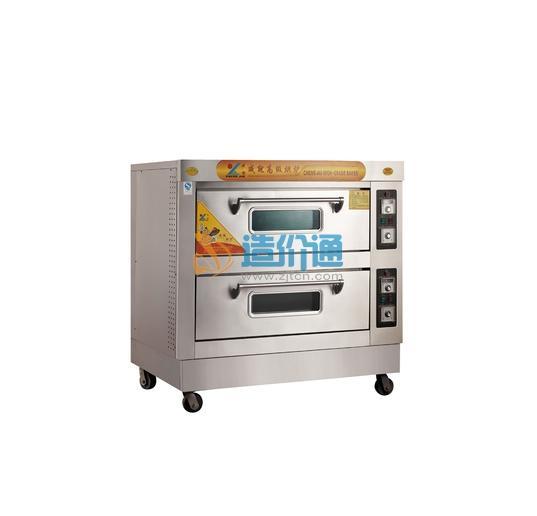 单层二盘电烘炉连架图片