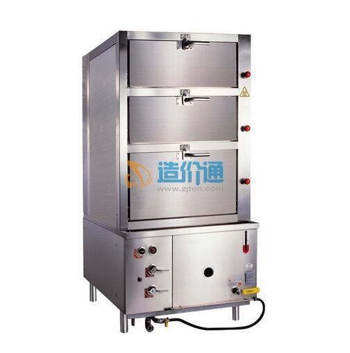 电磁海鲜蒸柜图片