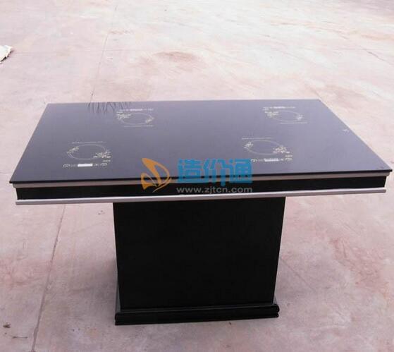 玻璃电磁炉桌图片