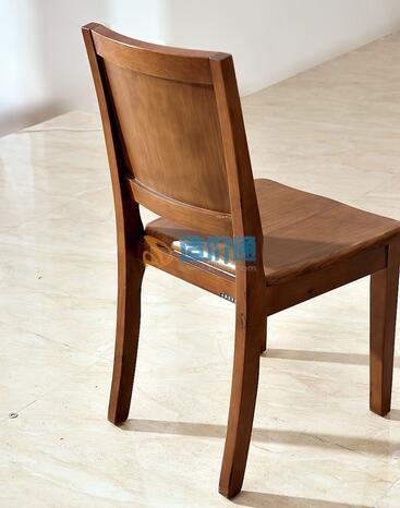 橡木实木餐椅图片