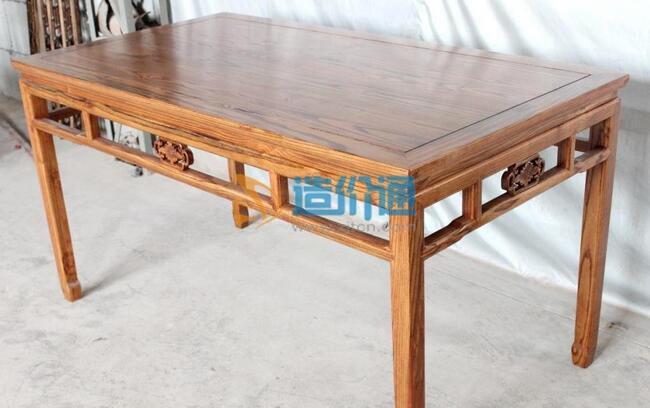 橡木西餐桌图片