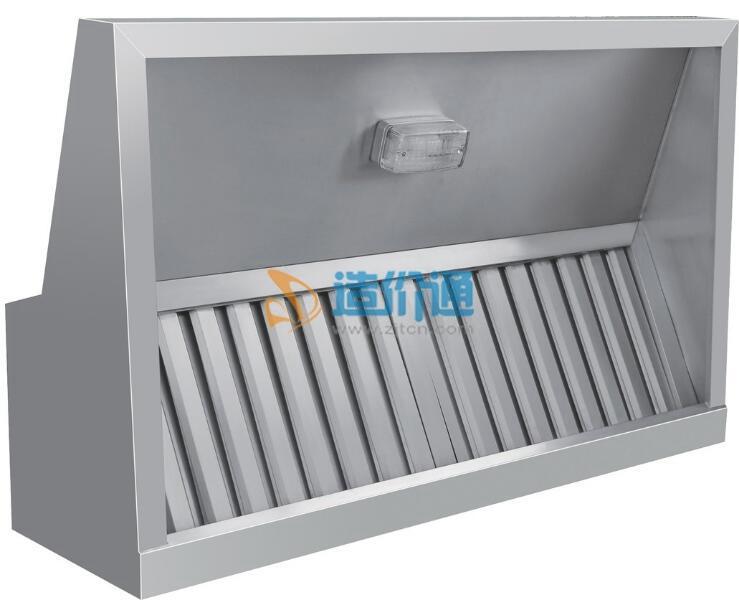 排烟罩消音器图片