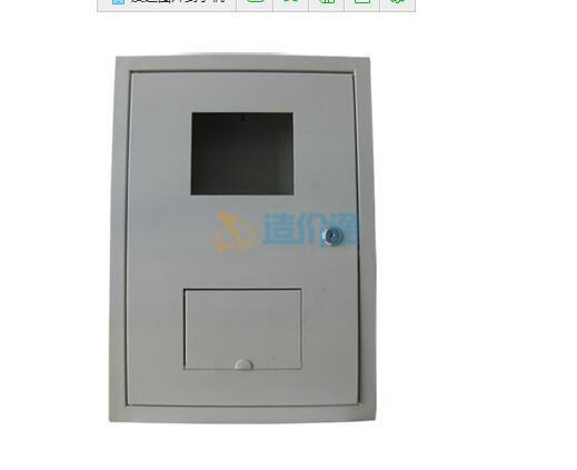 玻璃钢单门电表箱图片