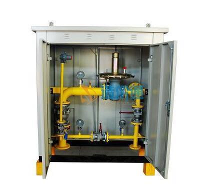 燃气调压箱图片