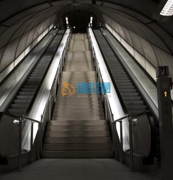 铝合金扶梯图片