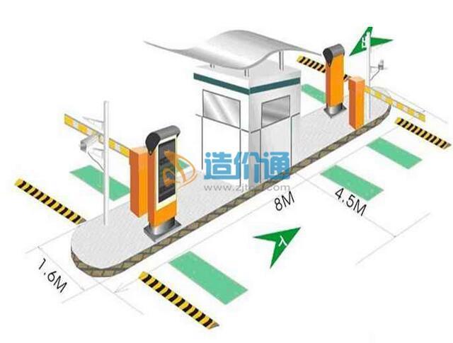 停车场管理系统管理设备-临时卡计费器图片