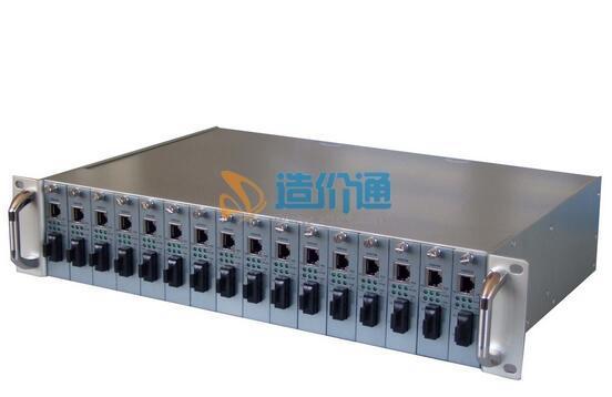 光纤收发器机架图片