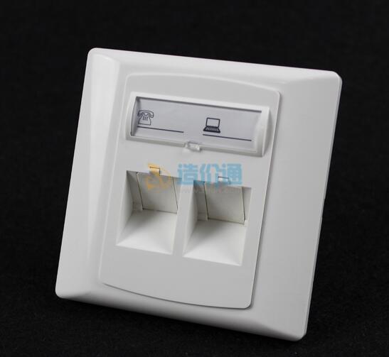 SC型6口光纤面板(含适配器)图片
