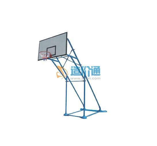 预埋圆管篮球架 (圆管)图片