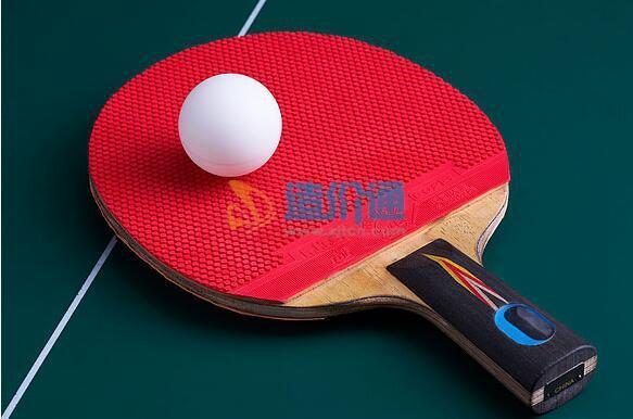 红双喜X5002横拍双面反胶乒乓球拍图片