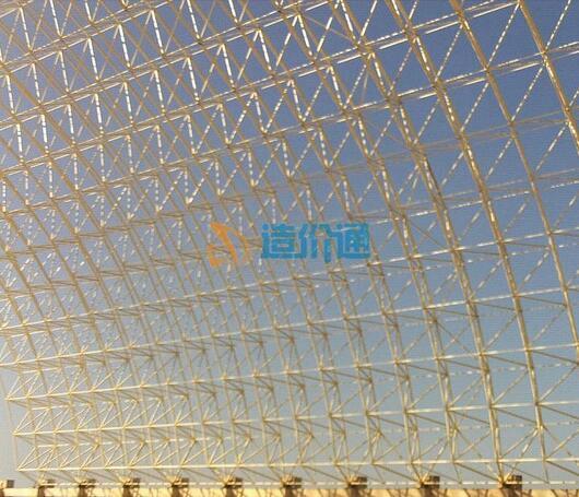 球型网架图片