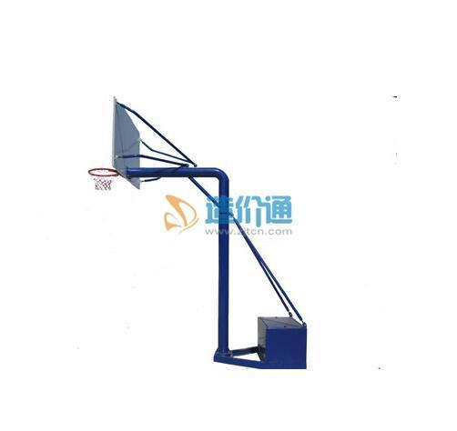 AT67×带箱移动独柱篮球架图片