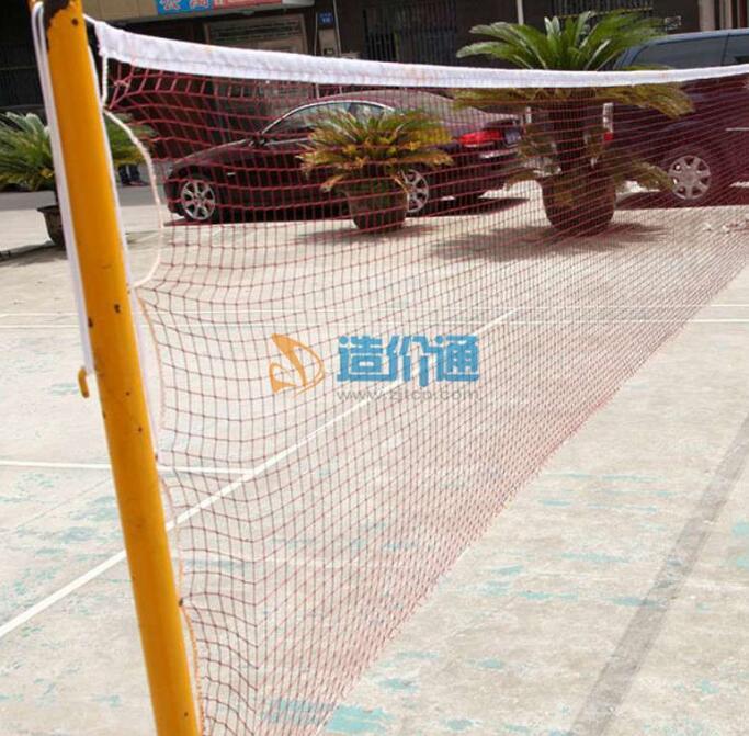 室外中档羽毛球场球场中线网图片