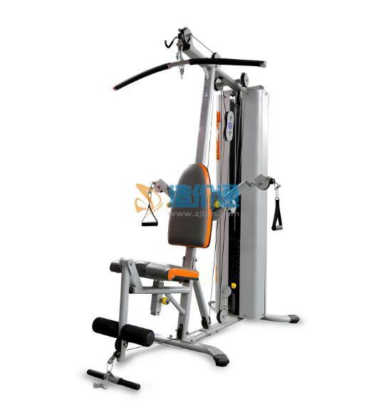 豪华单人站(气压滑轮多功能重量训练机)图片