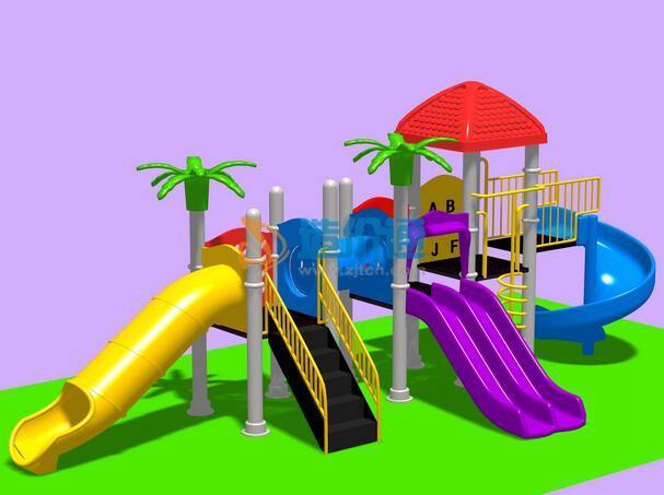 儿童游乐设施-综合游乐架图片