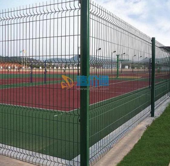 体育围网运动场围网勾花网图片